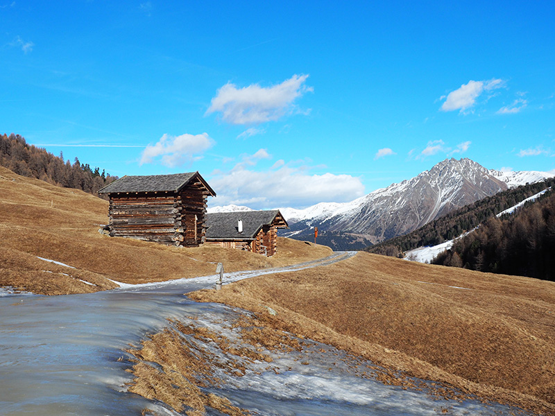 Winterwanderung Rojental