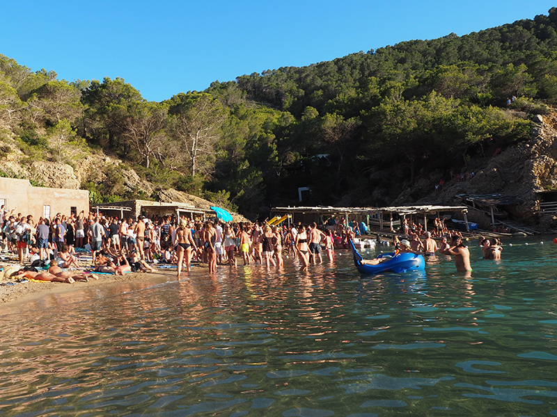 Ibiza - Cala Benirras Party