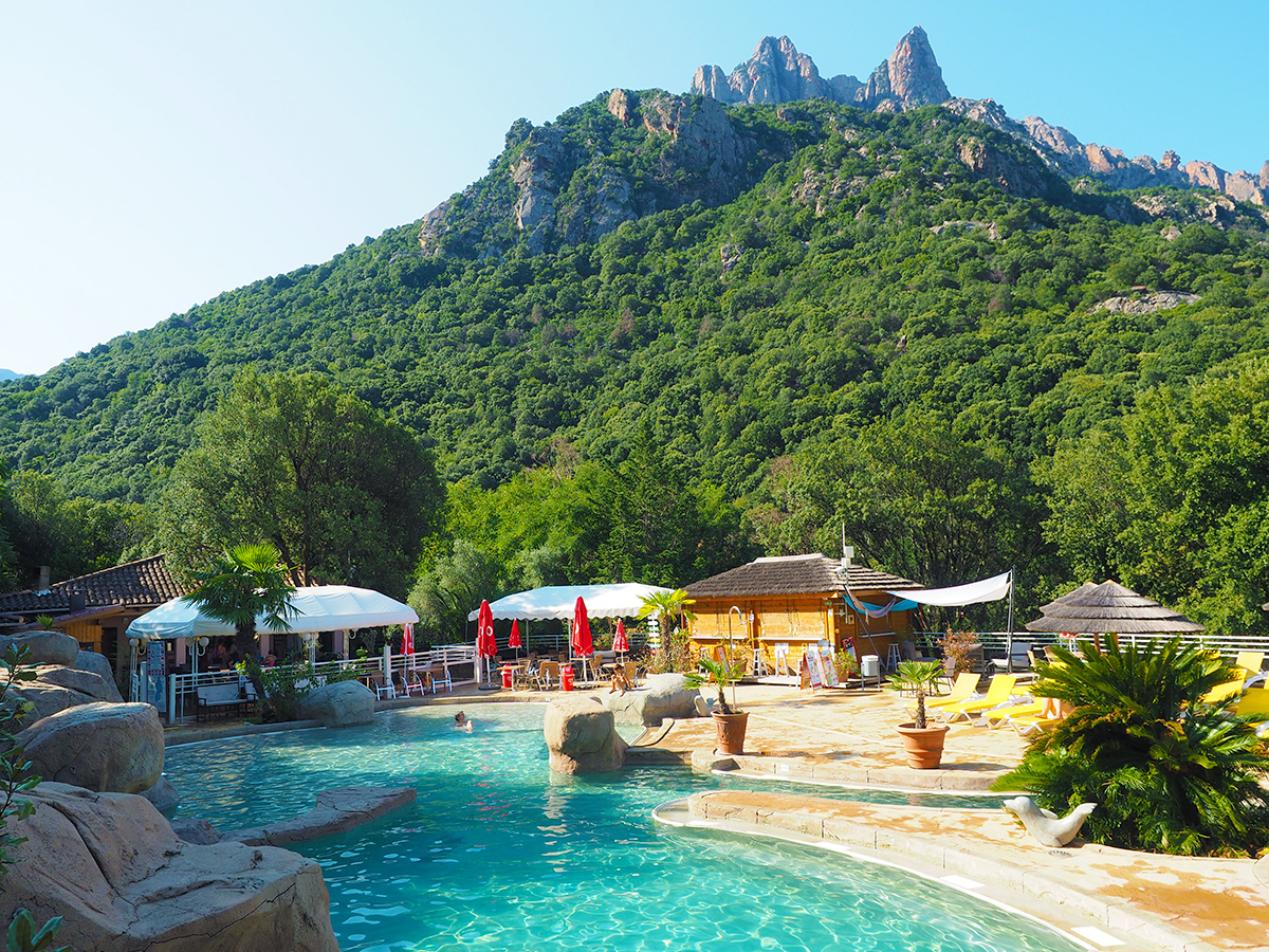 Camping Les Oliviers in Porto - Pool