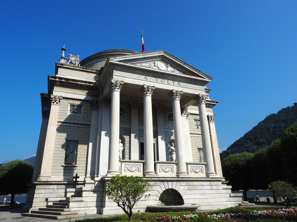 Tempio Voltiano in Como