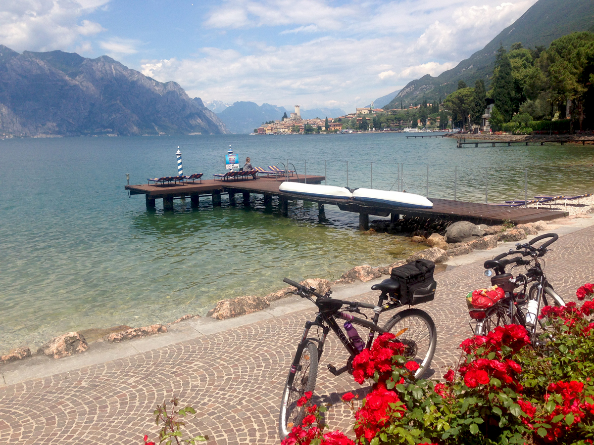 Mountainbike-Tour am Gardasee
