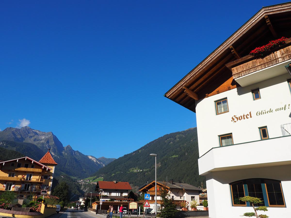 Hotel Glück auf in Mayrhofen