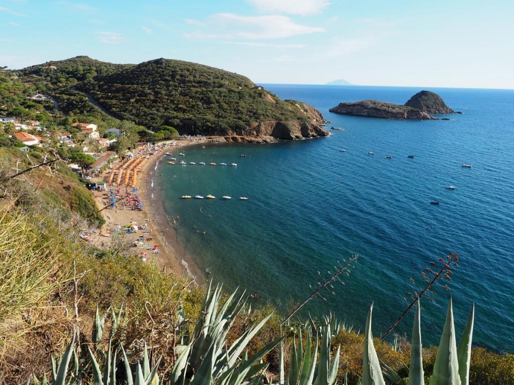 Elba - Strand Innamorata südlich von Capoliveri