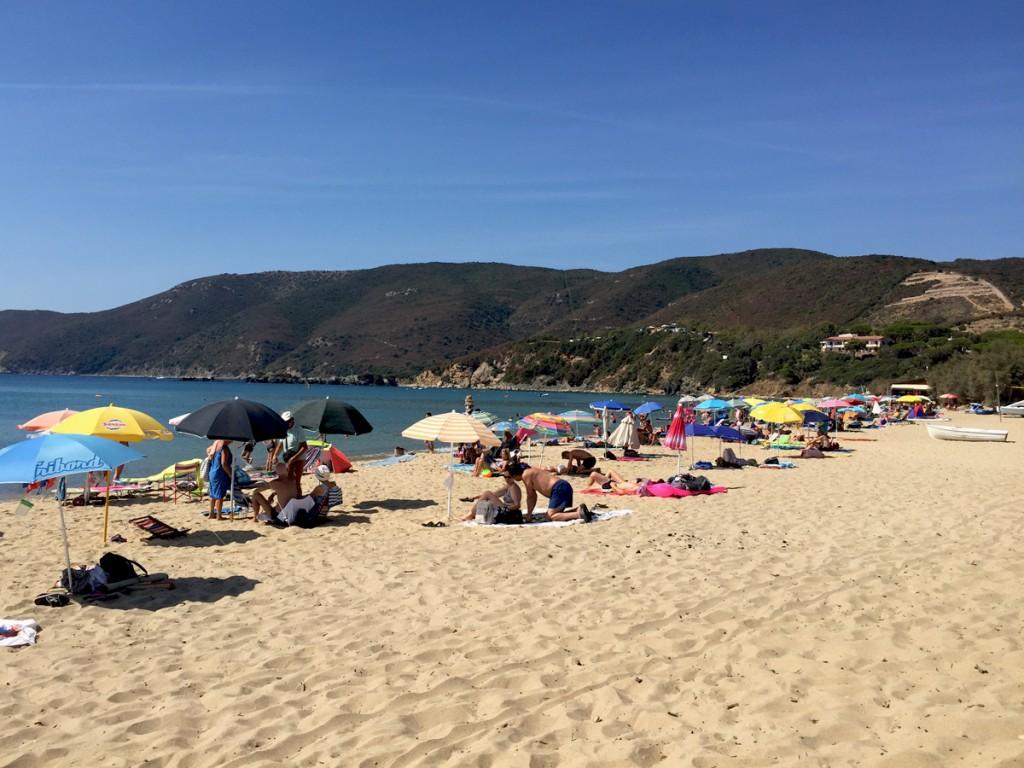 Elba - Strand in Lacona