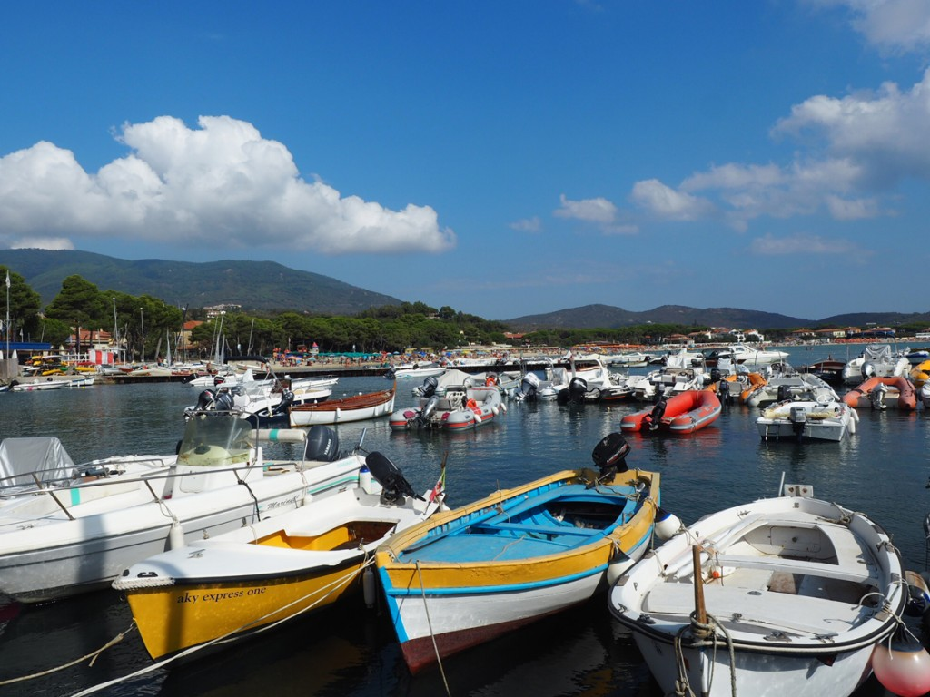 Hafen in Marina di Campo