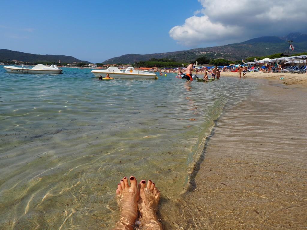 Marina di Campo - Strand