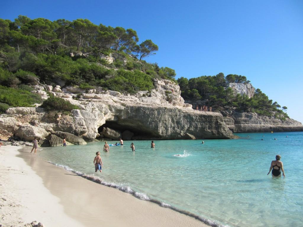Strand Cala Macarelleta, Menorca