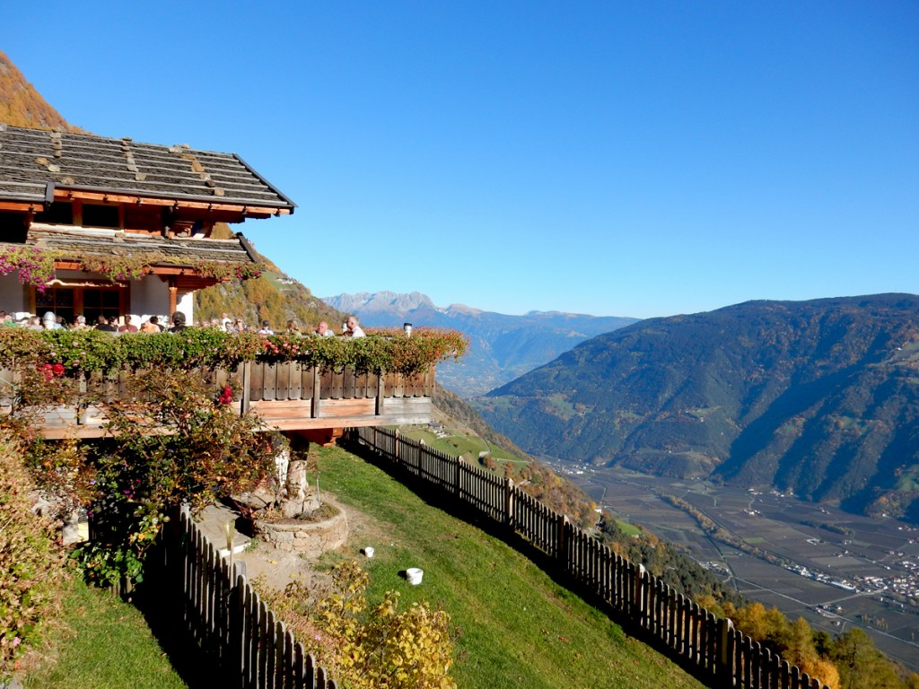 Gasthof Pirchhof auf dem Meraner Höhenweg