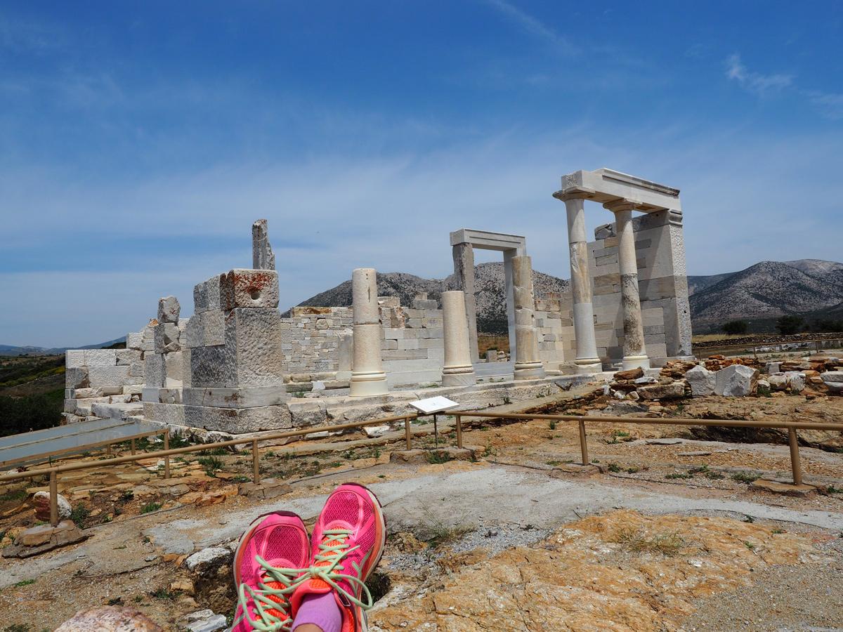Mountainbike-Tour auf Naxos