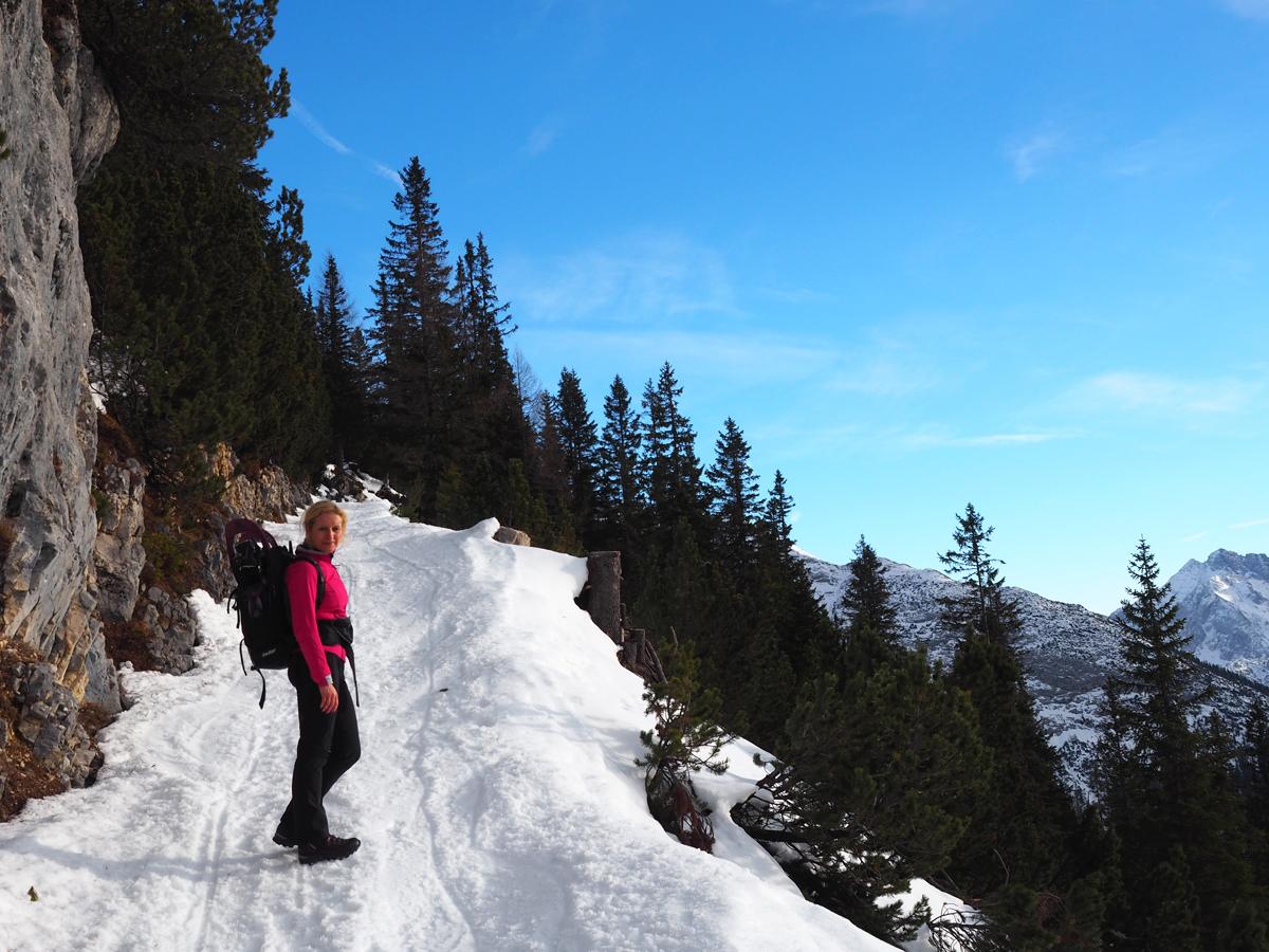 Winterwanderung auf die Pleisenhütte