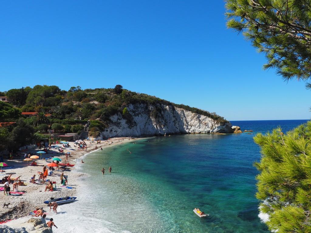 Elba - Strand Padulella in der Nähe von Portoferraio