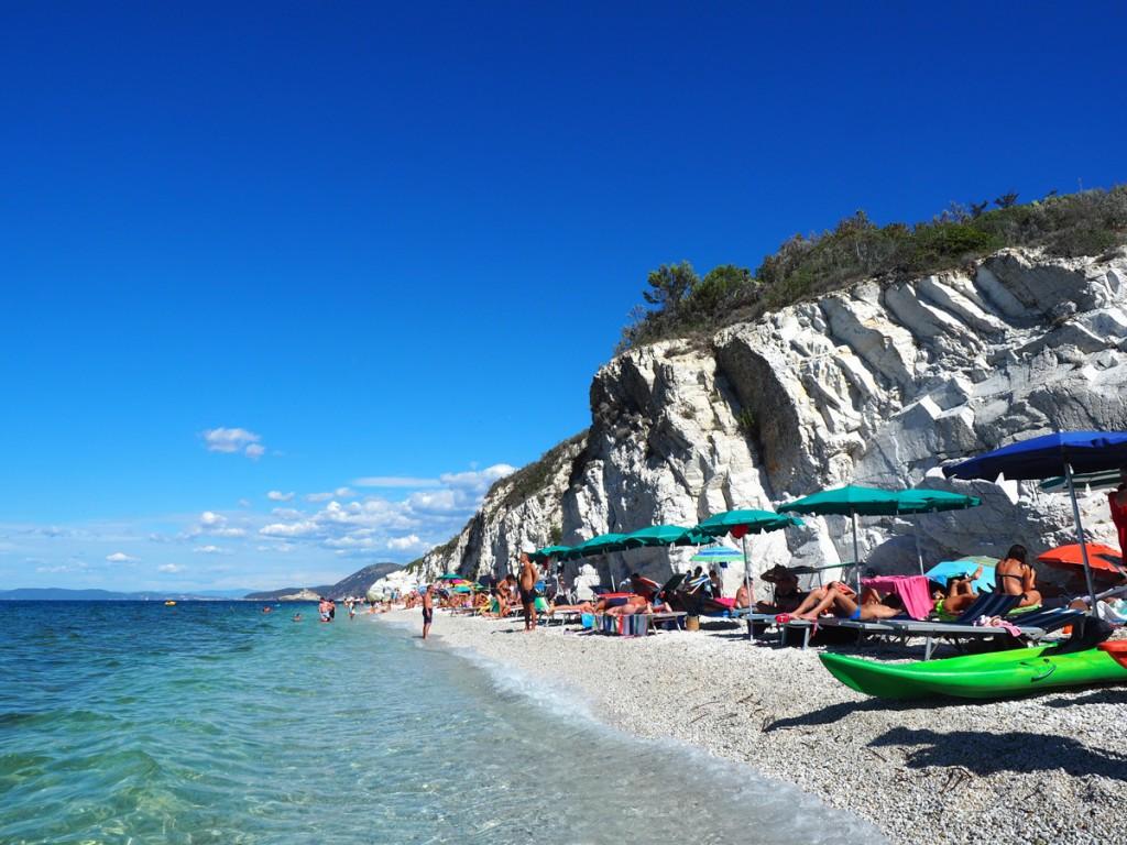 Elba - Strand Capo Bianco westlich von Portoferraio