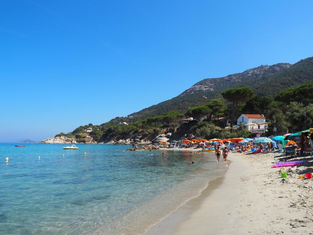 Elba - Strand in Sant Andrea