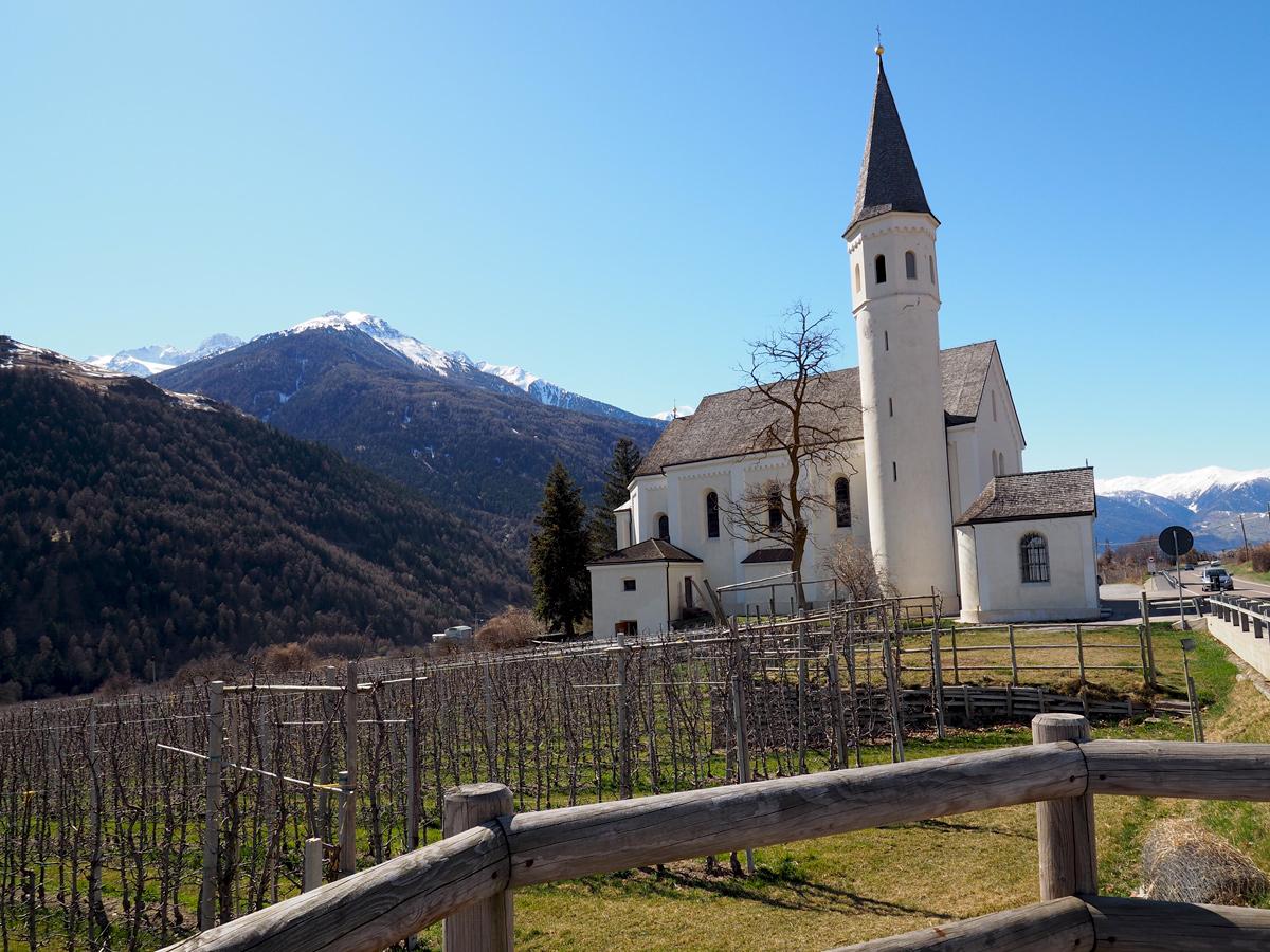 Kirche Maria Lourders- Laas, Südtirol