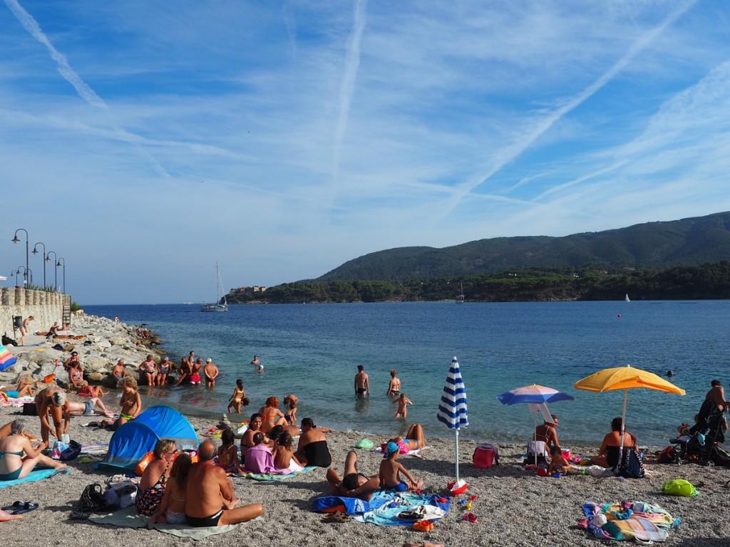 Elba - Strand in Porto Azzurro