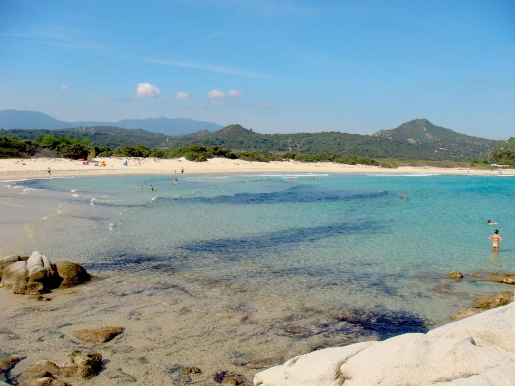 Strand Costa Rei, Sardinien