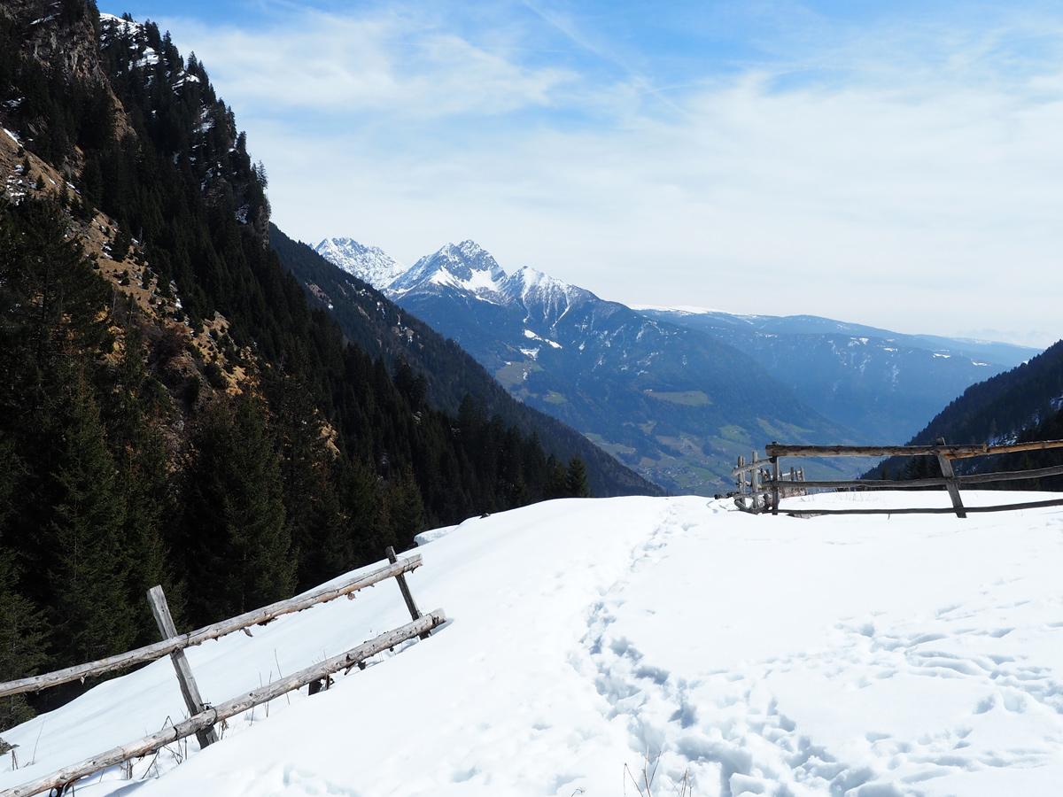 Schneeschuhwanderung Fischbühel, Südtirol