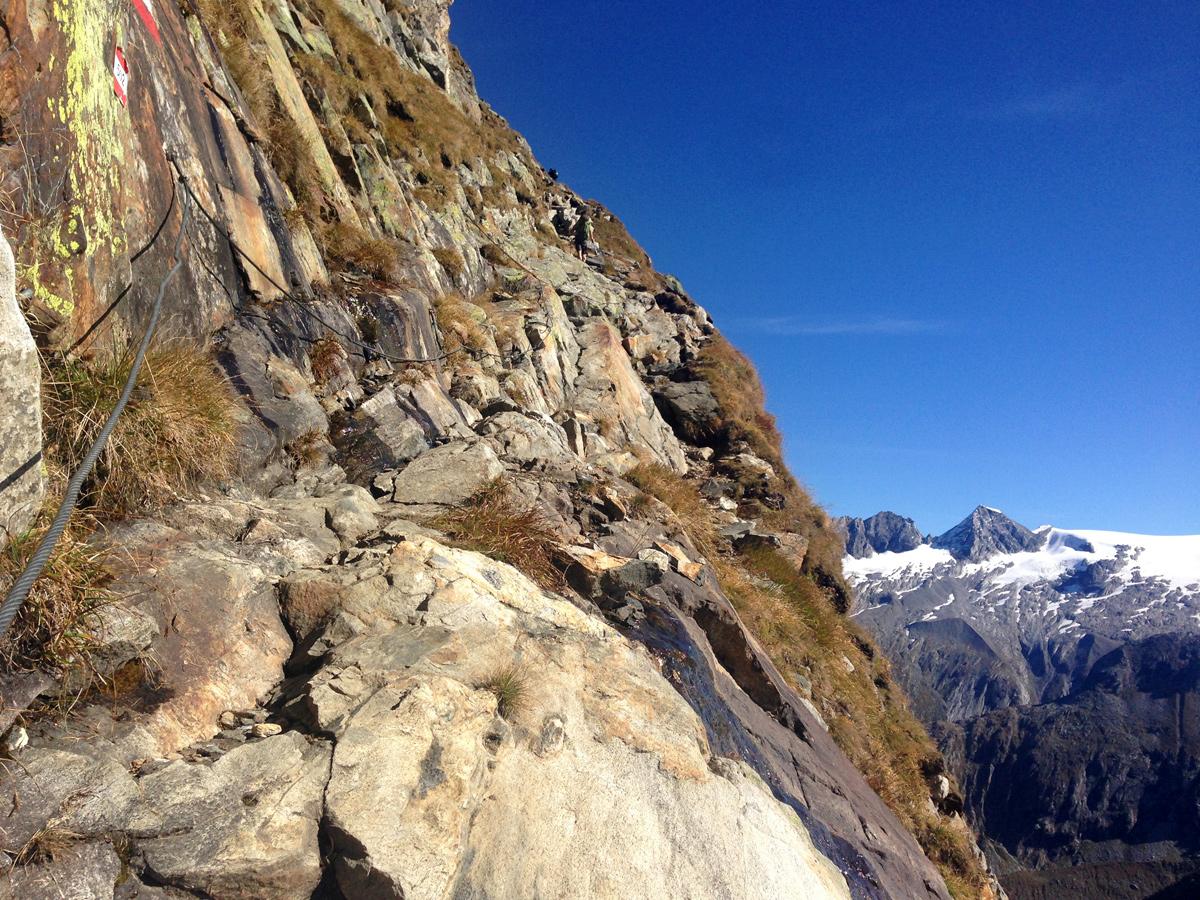 Wandern Zillertaler Alpen, Berliner Hütte - Schönbichler Horn
