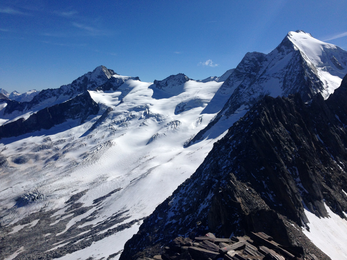 Wandern Zillertaler Alpen - Schönbichler Horn