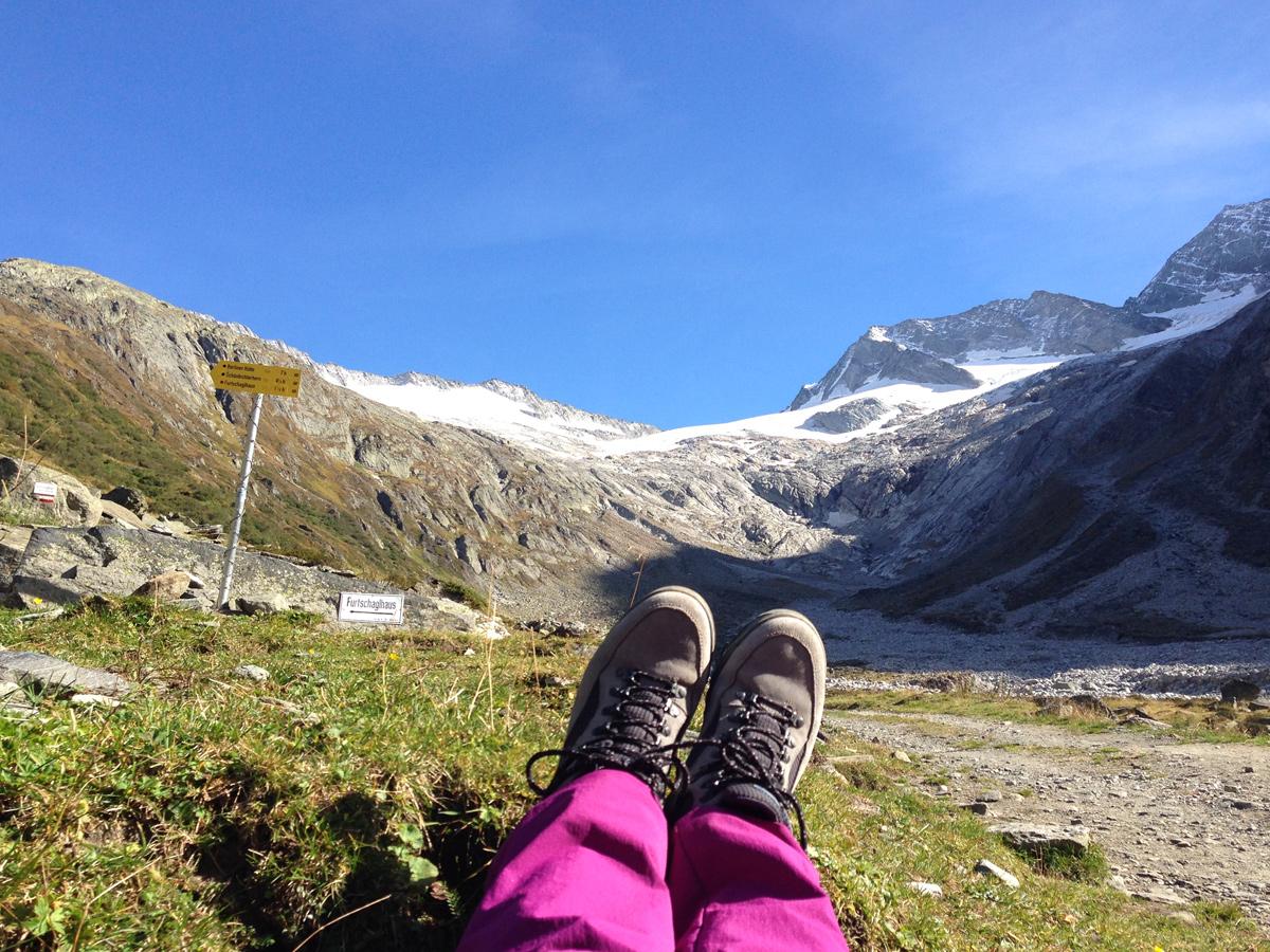 Wandern Zillertaler Alpen, Schönbichler Horn - Ginzling