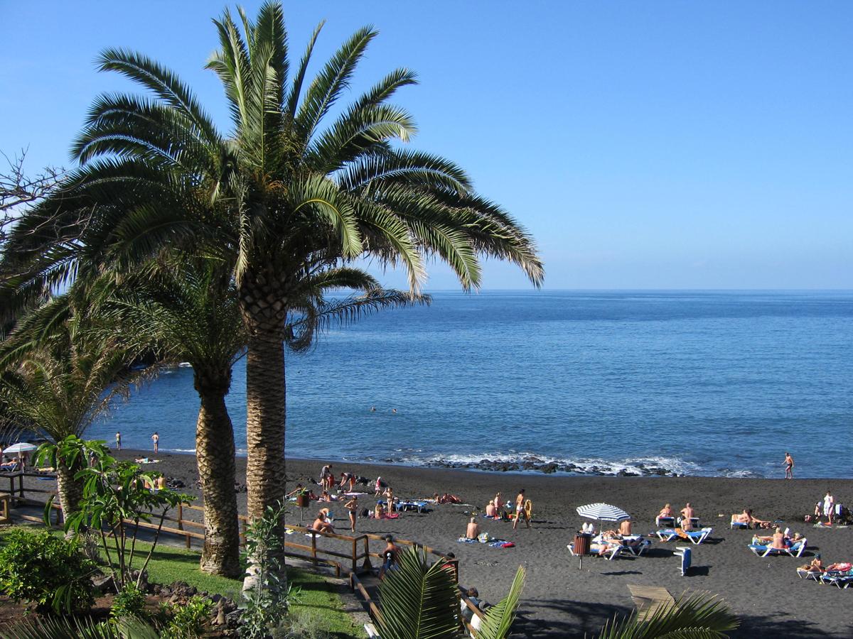 Teneriffa - Strand Playa de la Arena