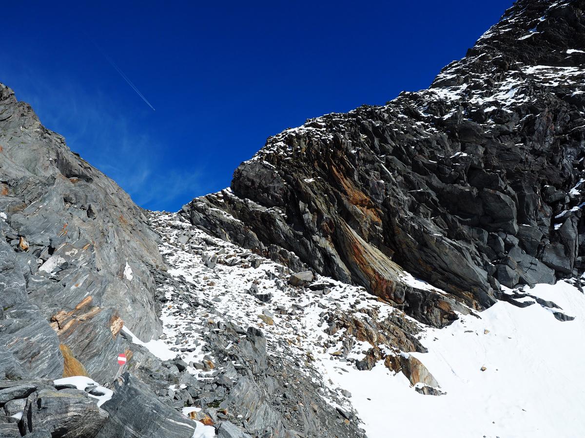 Bergtour Zillertaler Alpen - Mörchenscharte