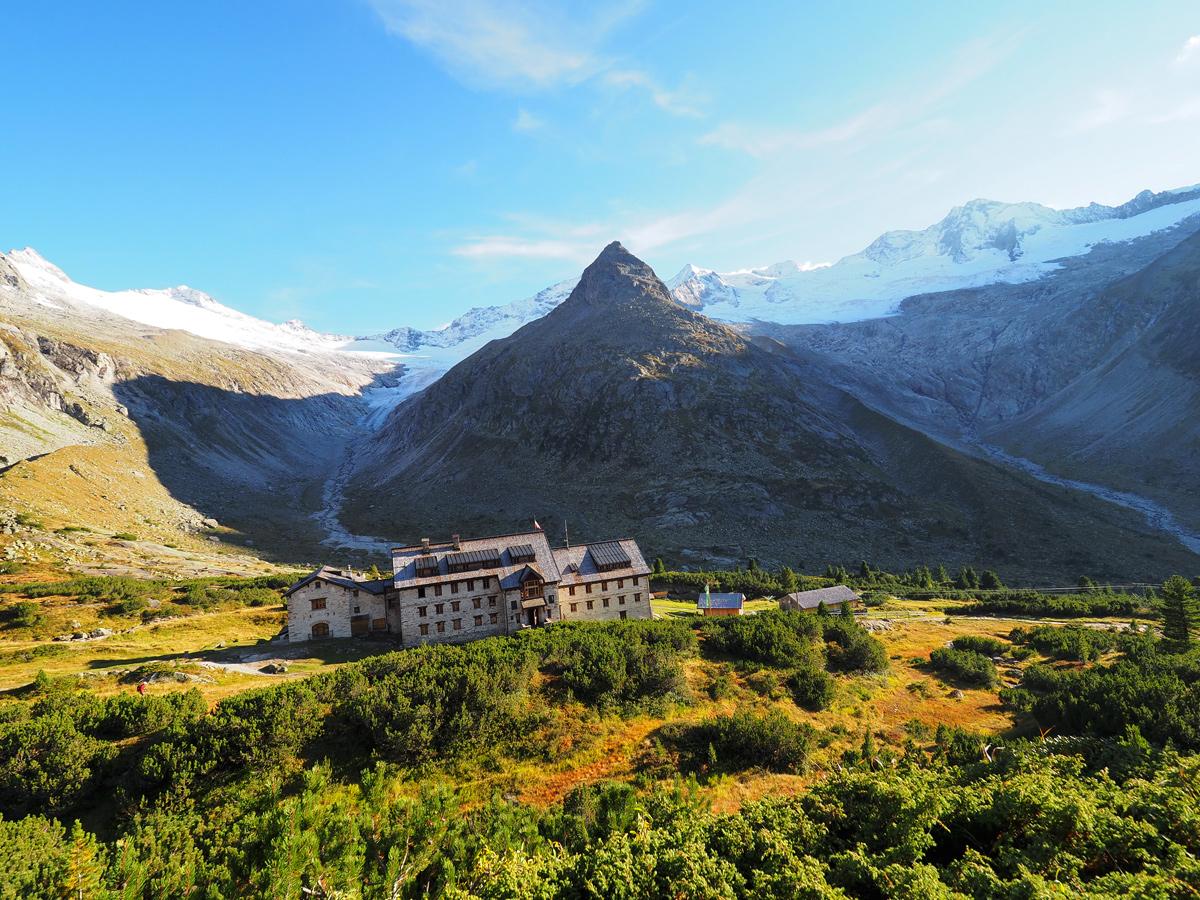 Wandern Zillertaler Alpen - Schwarzsee - Berliner Hütte