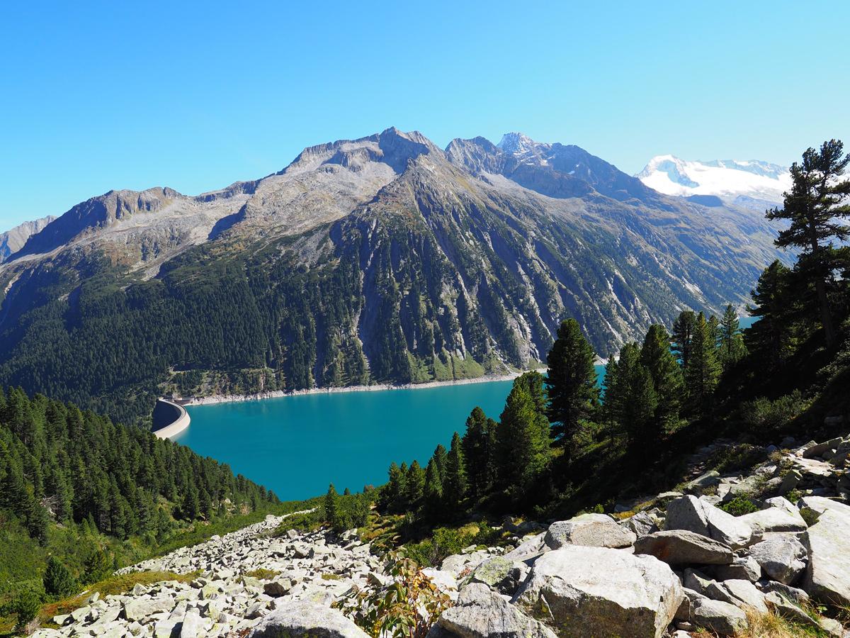 Wandern Zillertal, Schlegeisspeicher - Olpererhütte