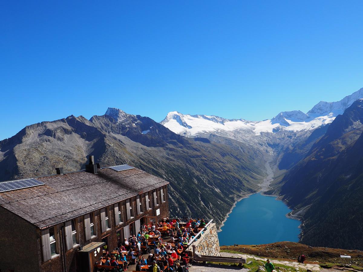 Wandern Zillertal - Olpererhütte
