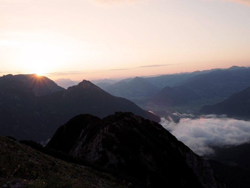 Bärenkopf - Sonnenaufgang