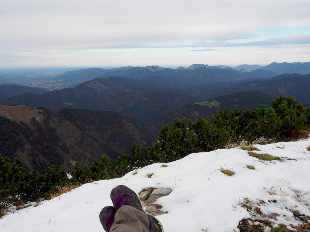 Demeljoch - auf dem Gipfel