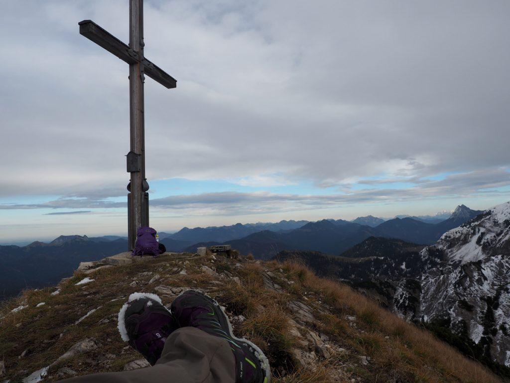 Demeljoch - Gipfel