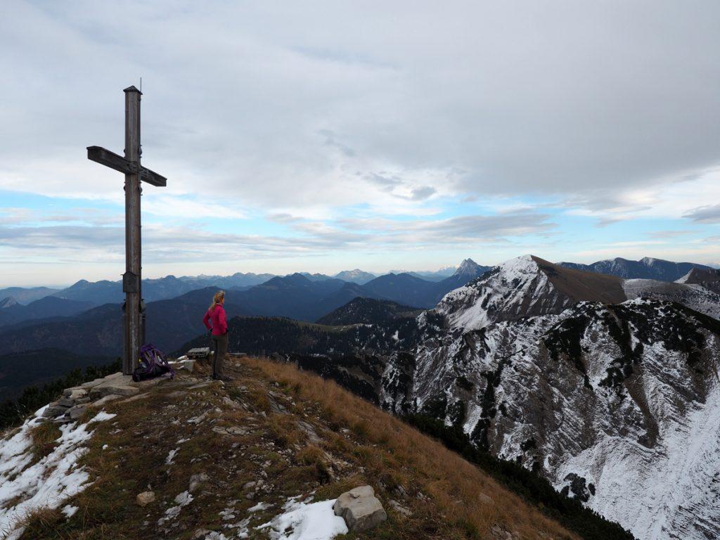 Demeljoch Gipfelkreuz