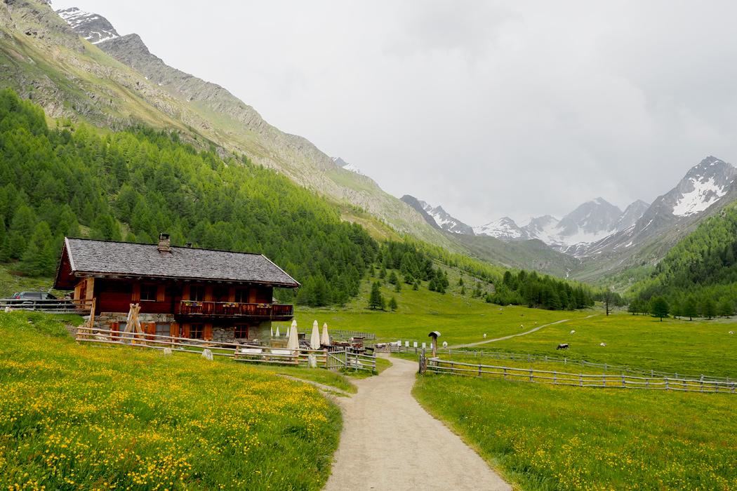 Meraner Höhenweg Eishof