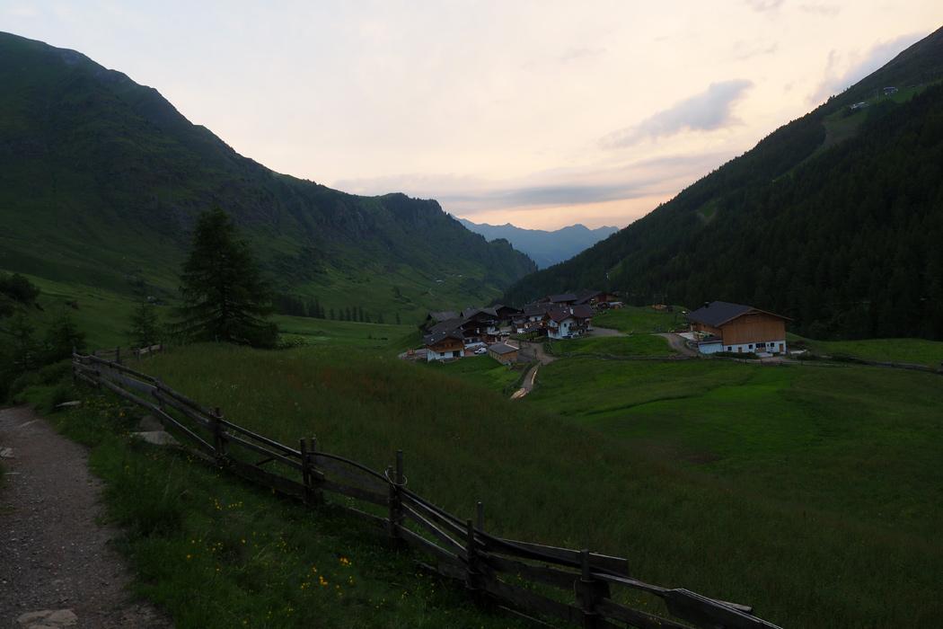 Meraner Höhenweg Hüttenwanderung