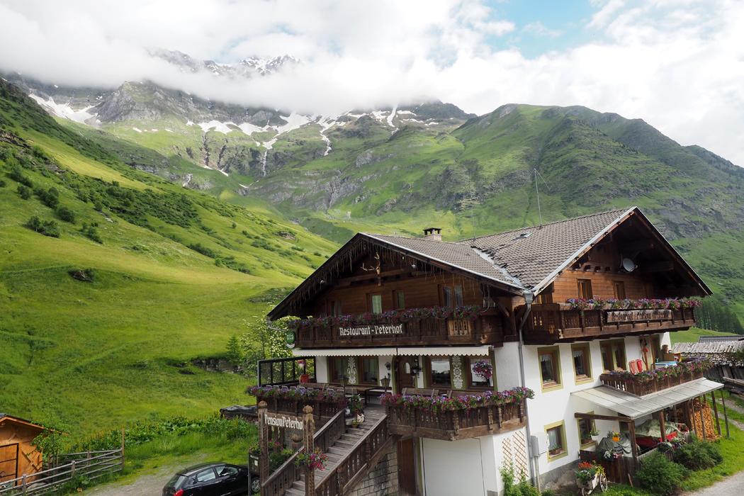 Meraner Höhenweg - Gasthof Zeppichl