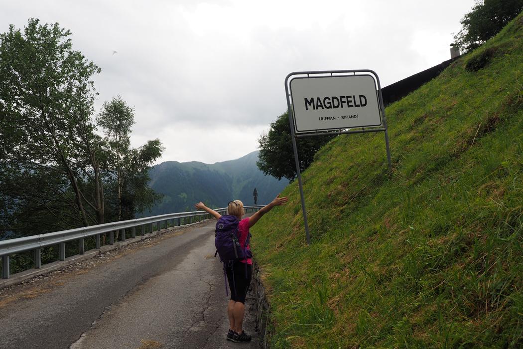 Meraner Höhenweg - Magdfeld