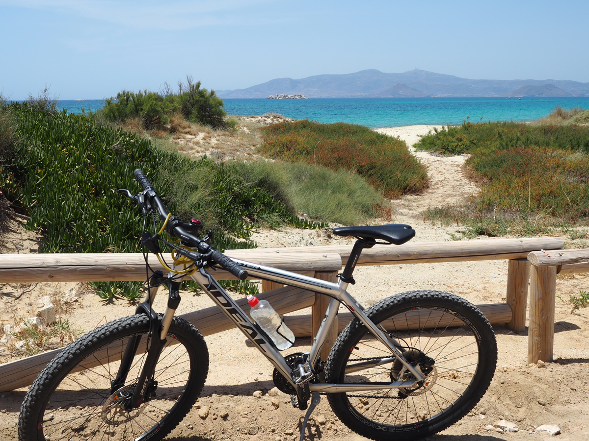 Naxos - Mountainbike-Tour