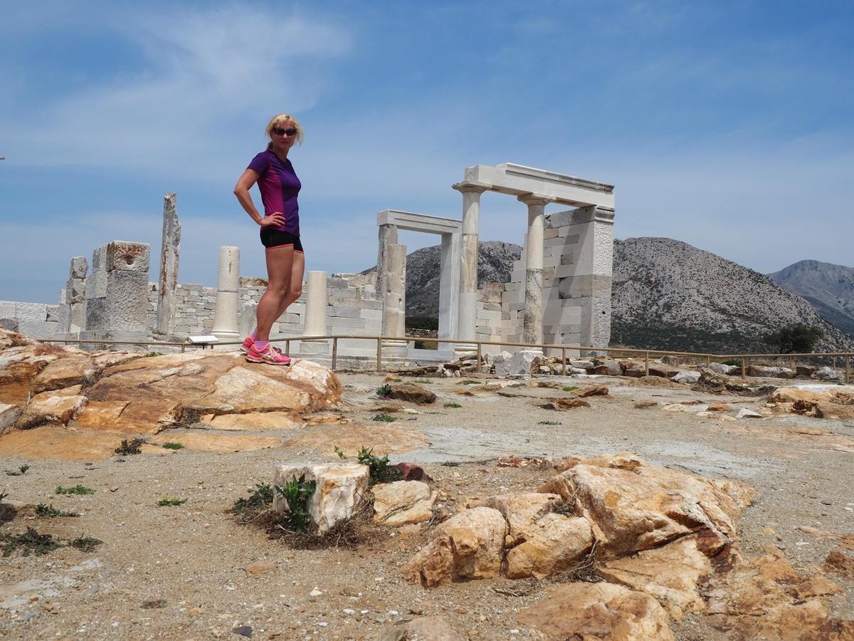 Naxos - Dimitra-Tempel