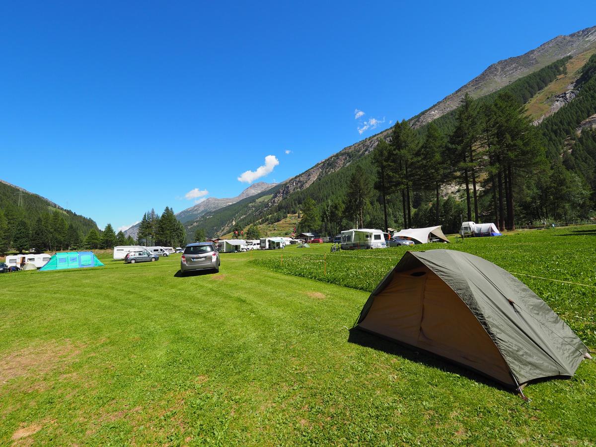 Saas Grund - Campingplatz
