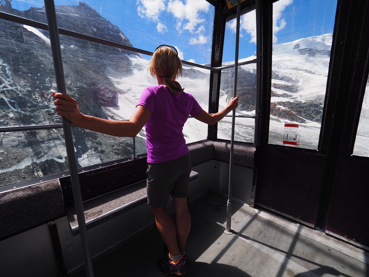 Saas Fee Kurzurlaub - Bergbahn