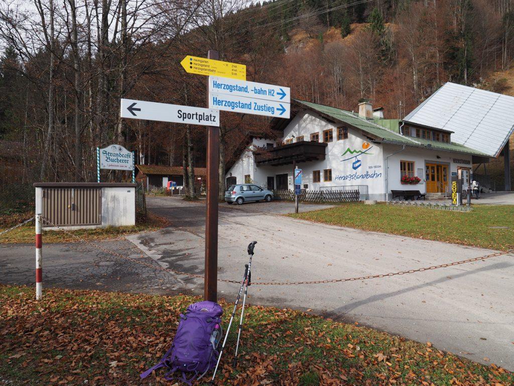 Heimgarten - Herzogstandbahn Herbstwanderung