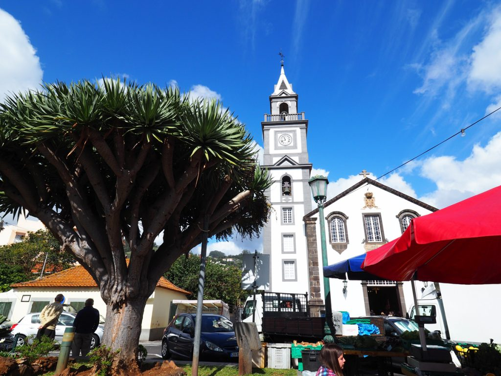 Madeira - Kirche in Canico