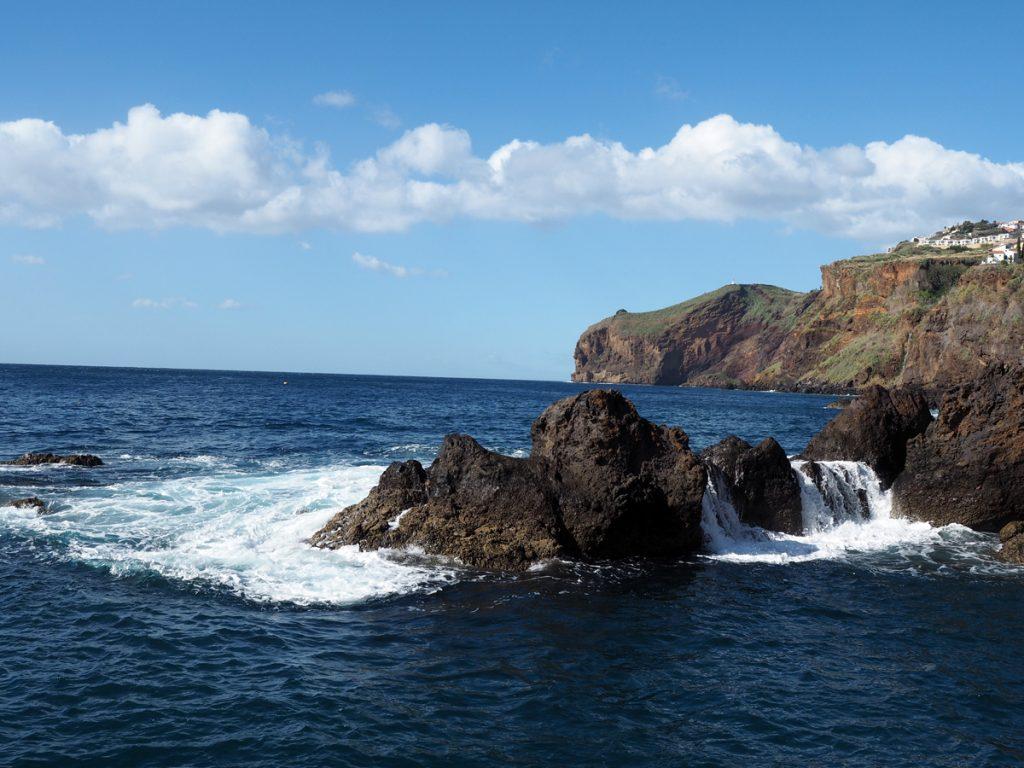 Madeira - Canico de Baixo, Atlantik
