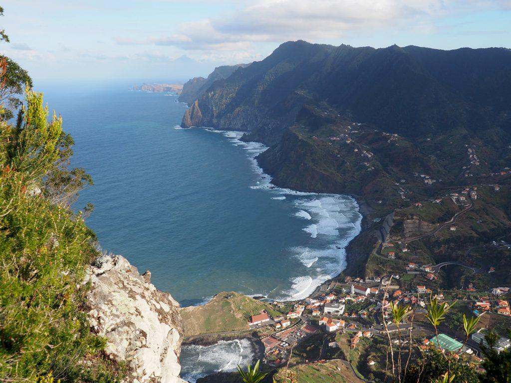 Madeira - Penha de Aguia, Porto da Cruz