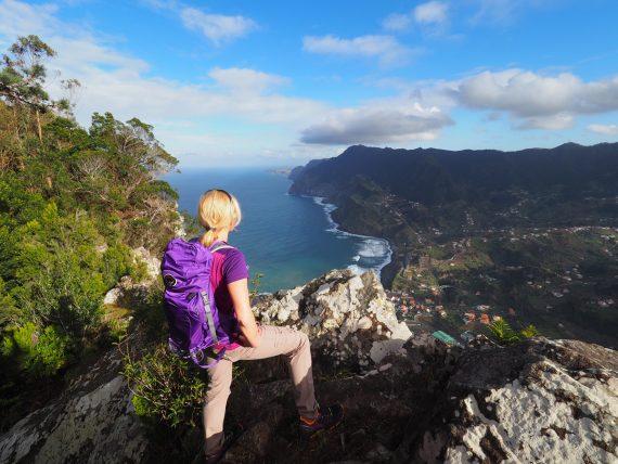 Madeira - Penha de Aguia Aussichtspunkt