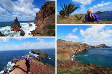 Madeira Wandern Ponta de Sao Lourenco
