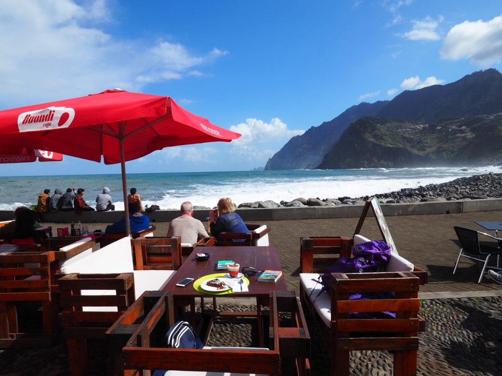 Madeira - Porto da Cruz, Restaurant Vila Bella