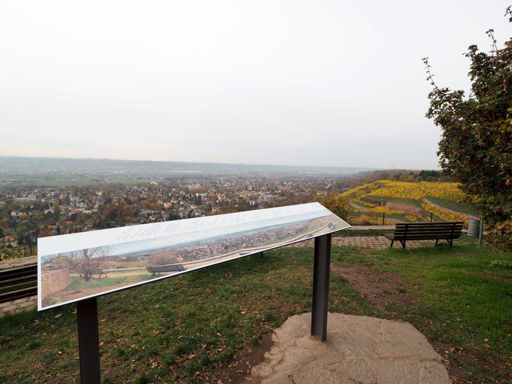 Radebeul Bismarckturm - Aussichtspunkt