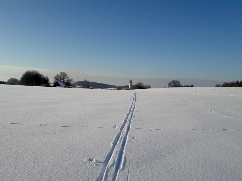 Langlaufen Dachau - Kreuzholzhausen